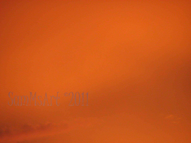 August 17 - 8x10 Print, Digital Fine Art Image Photo - Sunset, summer, fall, Power lines, Clouds