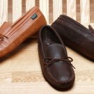 Mens Deerskin Canoe Sole Moccasins Cushion Insoles Sizes 6-13 Handcrafted USA
