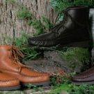 Mens Deertan Walking Boots Crepe Soles Cushion Insoles Sizes 6-13 Handmade USA