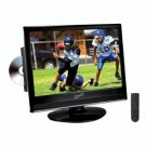 Supersonic Sc-1568d 15.6 Lcd Tv With Atsc Digital Tuner & Built-In Dvd Player