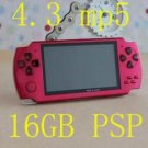 16GB 4.3inch MP5 Player Camera Function 4.3inch MP3 MP4 Player Game MP5 Player psp