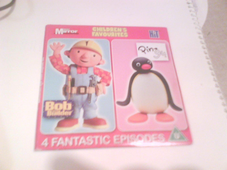 Bob & Pingu DVD Promo The Mirror 4 Stories Childrens