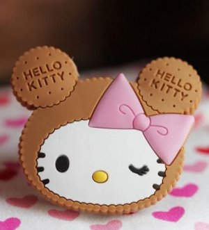 Hello Kitty Earphone Winder
