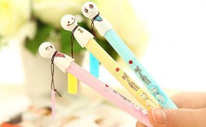 Rain Doll Gel Pen (Yellow)