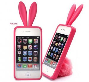 Rabito Iphone4 case in hot pink
