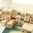 Daily Stamps Set - 25 pcs