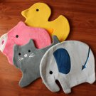 Super Soft Duck / Pig / Elephant / Cat Mat