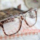 Leopard-Printed Frame Glasses