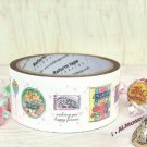 Candy Illustration Deco Tape