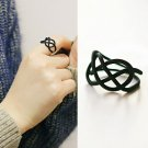 Black Infinity Ring