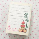 Castle Blank Notes Stamp