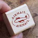 Airmail Sign Maple Stamp
