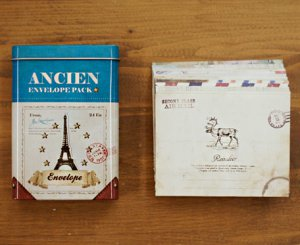 Vintage Envelope Pack - 20 pcs