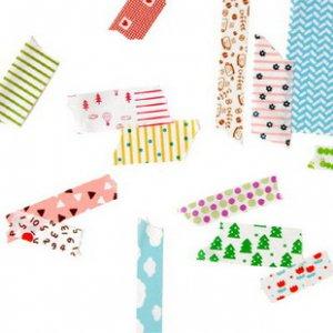 Masking Tape Pattern - 15 Sheets