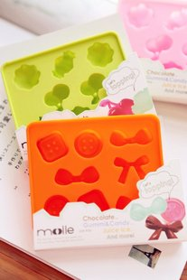 A Pair of Cute Ice Cube Mold