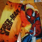 NWT boys size 6 Spiderman swim suit shorts