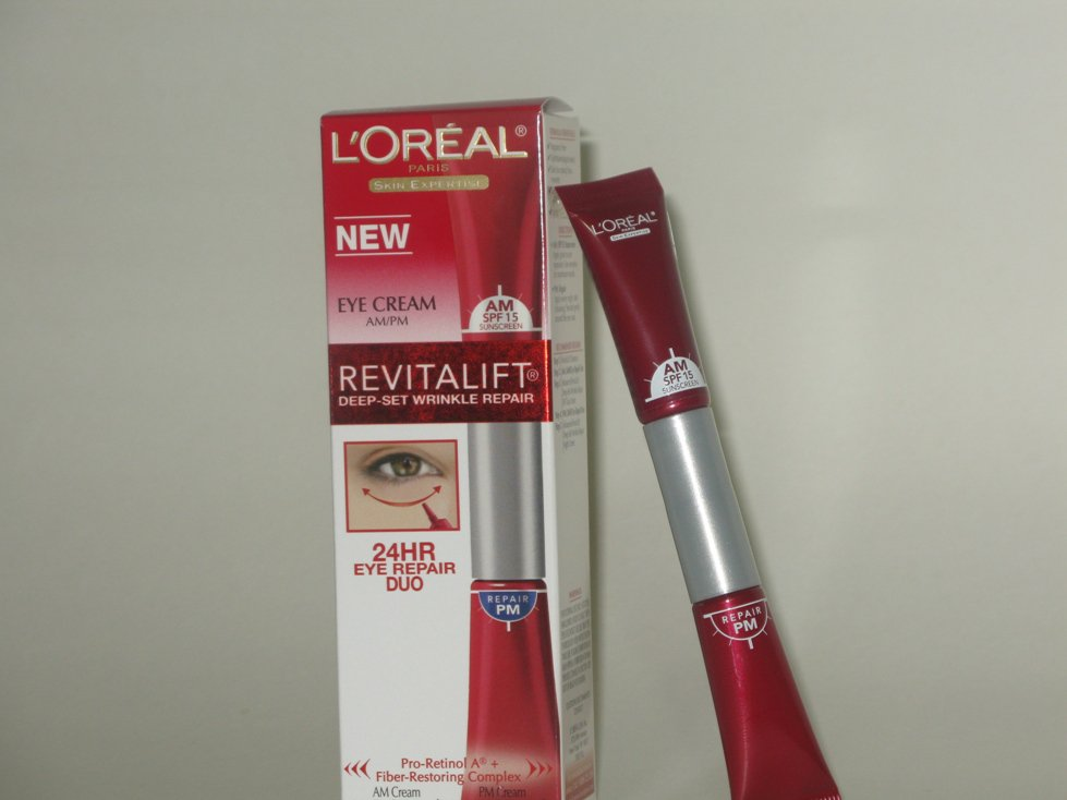L'Oreal Revitalift Deep Set Wrinkle Repair 24 hr Duo