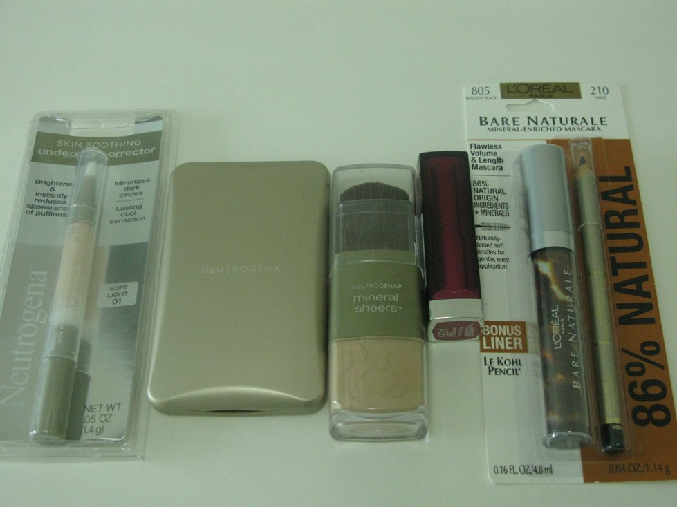 5 Pieces Mixed Brands Discount Cosmetic Set ( Set #10 )