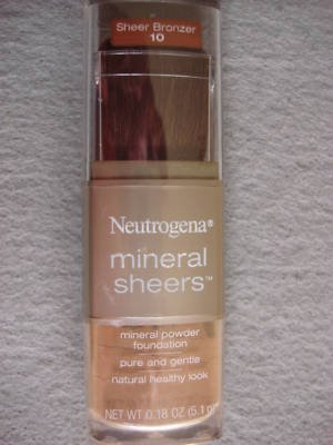 Neutrogena Mineral Sheers Powder Foundation (Bronzer) - #10