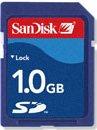 SanDisk Standard SD Card 1GB (SDSDB-1024)