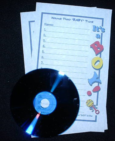 Baby Boy Shower - Name that Baby tune Game (Online) Mixed Version