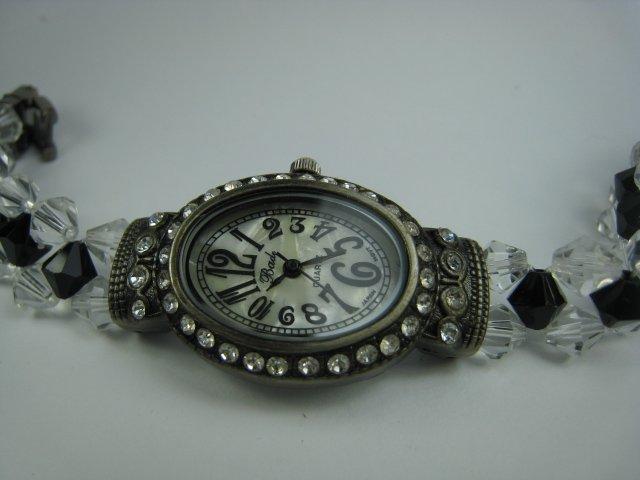 Exquisite Black Lady Watch