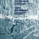 Solutions Manual to Accompany R. Barnett & M. Ziegler's Finite Mathematics for Business, Life Scienc