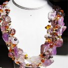 029N-Fashionable strans Necklace