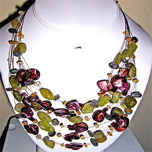 027N-Majestic necklace .
