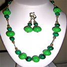 021ST-Charming Malachite set.