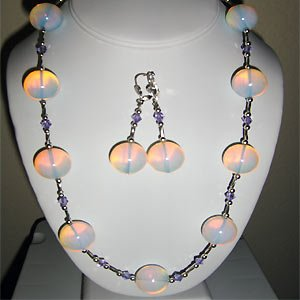 06ST-Rose Opalite Necklace.