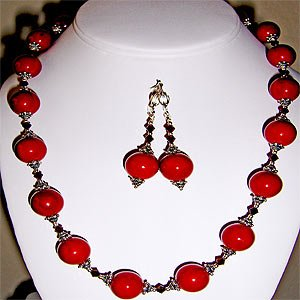 02ST-Terrific cherry Mother of Pearl set.