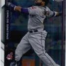 2015 Bowman Chrome Carlos Santana #32 Indians NM+