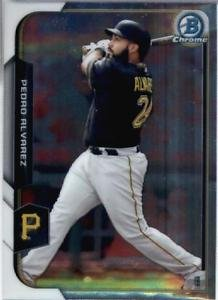 2015 Bowman Chrome Pedro Alvarez #57 Pirates NM+