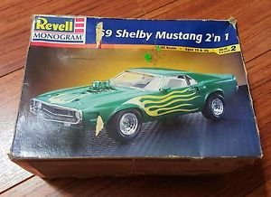 Revell 1/25 1969 Shelby Mustang Model Kit