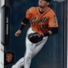 2015 Bowman Chrome Joe Panik #108 Giants NRMT+