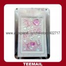 popular acrylic crystal mobile sticker for phone's ornament in good selling