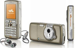Sony Ericsson W700i Cell Phone (unlocked) - Golden