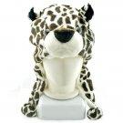 Leopard Spots Mascot Plush Fancy Dress Costume Fur Hat Cap #11417