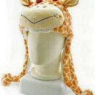 Giraffe Plush Mascot Fancy Dress Costume Mask Fur Hat Cap #50913