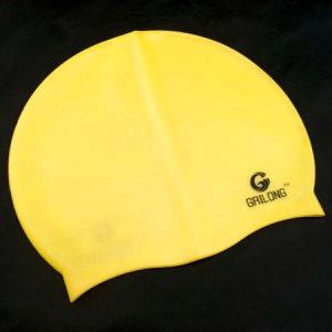 Silicone Swim Cap (YELLOW) #51425