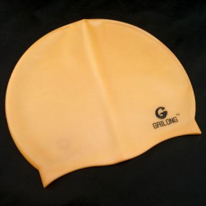 Silicone Swim Cap (ORANGE) #50709