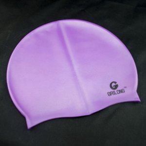 Silicone Swim Cap (PURPLE) #50712