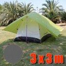 Tarp Tarpaulin Tent Shelter Heavy Duty L (GRAY) #51460