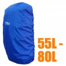 BlueField Backpack Rain Cover 55L to 80L BLUE (Large) #51304
