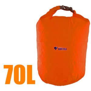 70L Bluefield Waterproof Outdoor Dry Bag (ORANGE RED) #51344