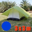 Tarp Tarpaulin Tent Shelter Heavy Duty L (ROYAL BLUE) #51154