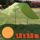 Tarp Tarpaulin Tent Shelter Heavy Duty S (ORANGE) #50838