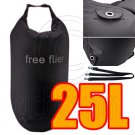 25L Taffela Waterproof Dry Bag (with 3 Eyelet & shoulder strap) #51523