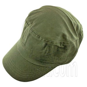 Military Cap with Clip (OLIVE GREEN) #51534